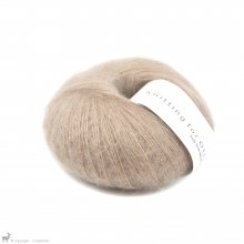 Fil de soie Knitting For Olive Soft Silk Mohair Mushroom Rose