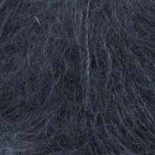 Fil de soie Knitting For Olive Soft Silk Mohair Navy Blue