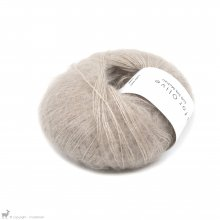 Fil de soie Knitting For Olive Soft Silk Mohair Powder