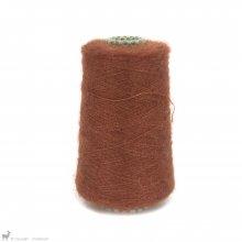 Fil de soie Knitting For Olive Soft Silk Mohair Rust Cône