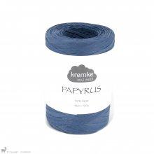 Fil de raphia Papyrus Bleu Jeans 23