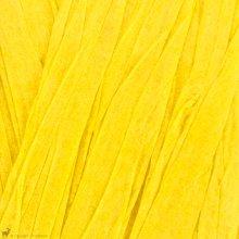 Fil de raphia Papyrus Jaune Soleil 09