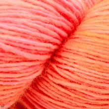Fingering - 04 Ply Tosh Merino Light Neon Peach 299