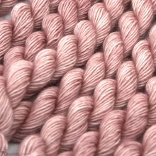 Laine mérinos Unicorn Tails Copper Pink (Solid)