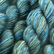 Unicorn Tails Worn Denim  233 - Madelinetosh