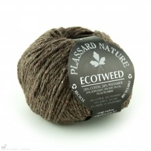 Fil de soie Ecotweed Brun Ecorce 024