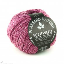 Fil de soie Ecotweed Rose Groseille 11