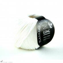Fil de coton Gong Blanc Arctique 001