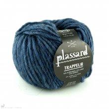Laine d'alpaga Trappeur Bleu Geai 39