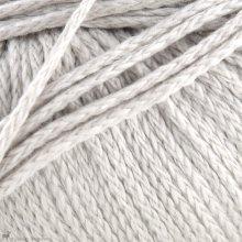 Fil de coton Softknit Cotton Gris Argenté 586