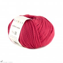 Fil de coton Softknit Cotton Rouge Crépuscule 582