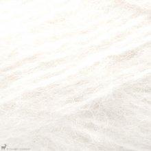 Laine d'alpaga Børstet Alpakka Blanc Neige 1001