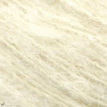 Laine d'alpaga Børstet Alpakka Blanc Vanille 2102