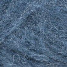 Laine d'alpaga Børstet Alpakka Bleu Encre 6060