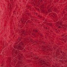 Laine d'alpaga Børstet Alpakka Rouge Vif 4219