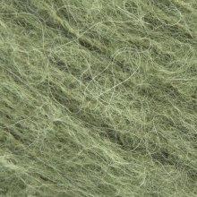 Laine d'alpaga Børstet Alpakka Vert Mousse 9554