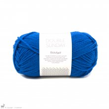 DK - 08 Ply Double Sunday Petite Knit Electric Blue 6046