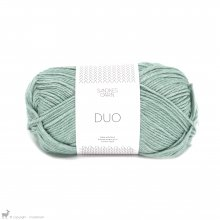 Laine mérinos Duo Bleu Aqua 6841
