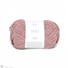 Laine mérinos Duo Rose Poudre 4032