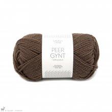 Laine de mouton Peer Gynt Brun Chocolat 3062