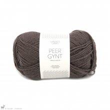 Laine de mouton Peer Gynt Brun Moka 3571