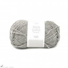Laine de mouton Peer Gynt Gris Chiné 1042