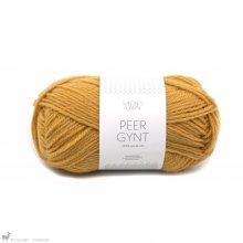 Laine de mouton Peer Gynt Jaune Moutarde 2324