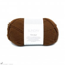 Laine mérinos Sunday Petite Knit Chocolate Truffle 2564