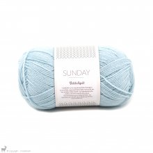 Laine mérinos Sunday Petite Knit Diamond Blue 6012