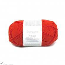 Laine mérinos Sunday Petite Knit That Orange Feeling 3819