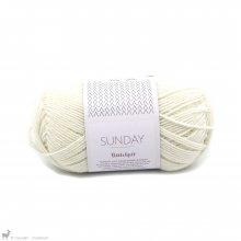 Laine mérinos Sunday Petite Knit Whipped Cream 1012