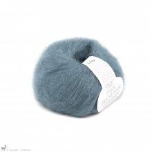 Fil de soie Tynn Silk Mohair Bleu Glacier 6552