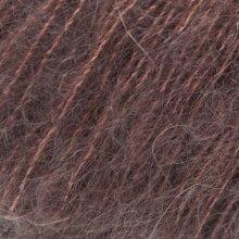 Fil de soie Tynn Silk Mohair Brun Brou 4062