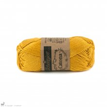 Fil de coton Catona 50 Jaune Saffron 249