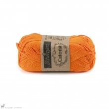 Fil de coton Catona 50 Orange Tangerine 281