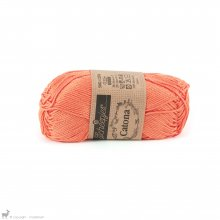 Fil de coton Catona 50 Orange Peach 386