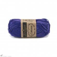 Fil de coton Catona 50 Violet Deep Amethyst 508