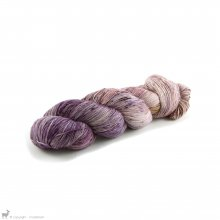 TOT Single Sock Violette V2 - Tôt Le Matin Yarns