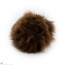 Pompons Houppe Brun Grizzly