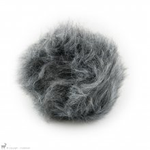 Pompons Houppe Gris Loup